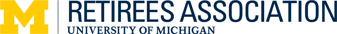 Horizontal logo of the U-M Retirees Association