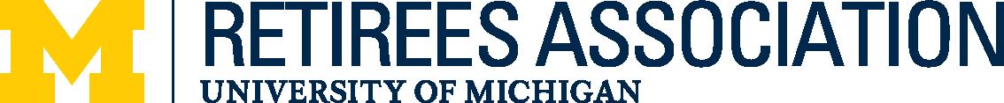 Horizontal logo of the U-M Retirees Association