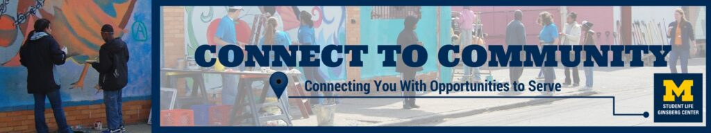 Logo for the connect 2 community volunteer organization